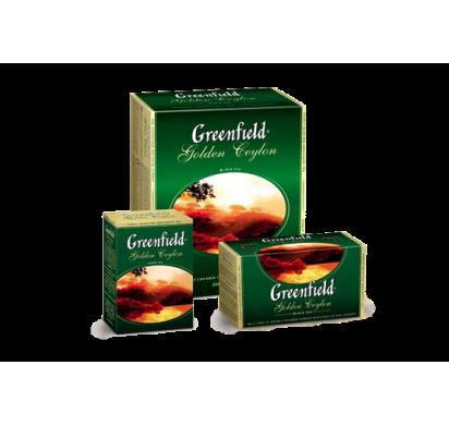 Чай Гринфилд в ассортименте