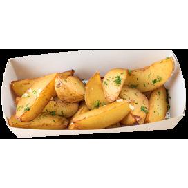 Картофель жаренный «по-деревенски»